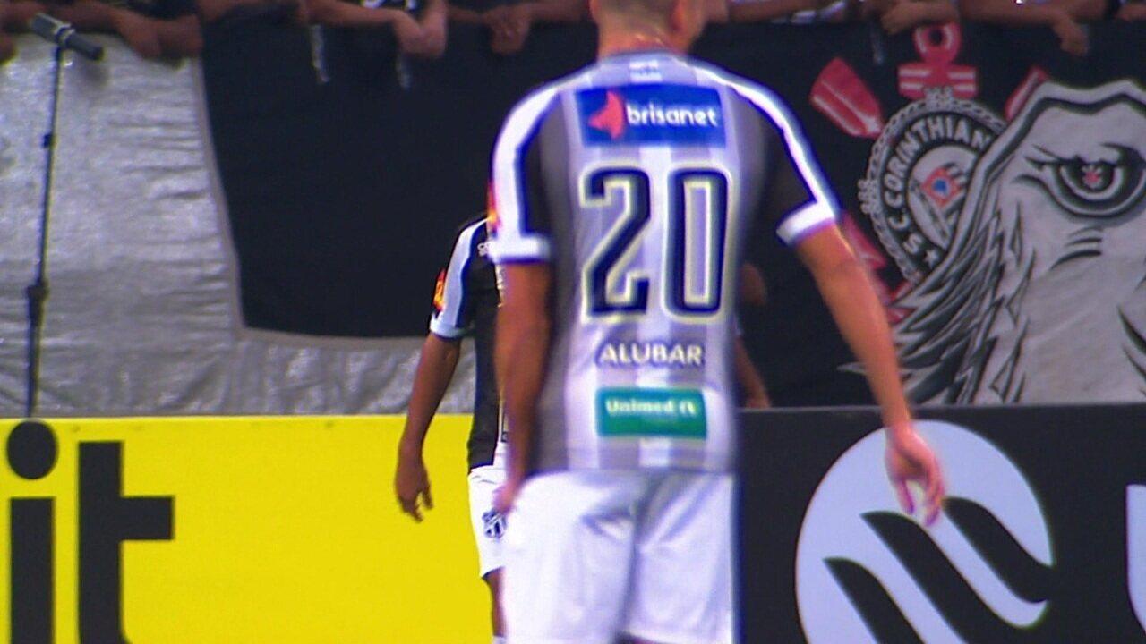 Melhores momentos de Corinthians 0 x 1 Ceará pela Copa do Brasil