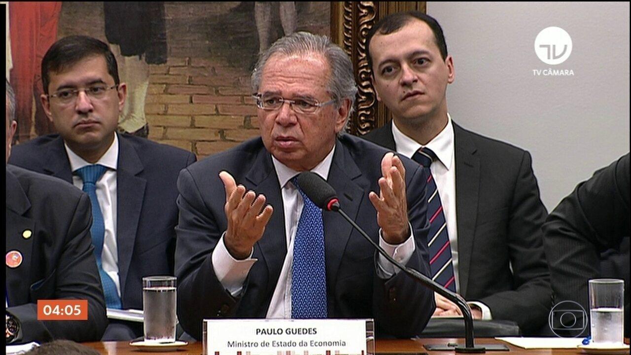 Paulo Guedes passa quase sete horas na CCJ da Câmara debatendo a Reforma da Previdência