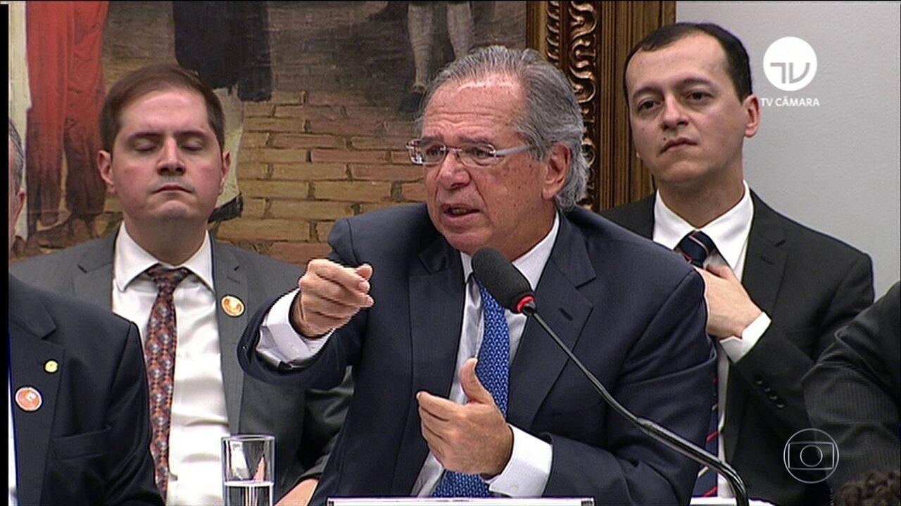 Paulo Guedes enfrenta dura sabatina na comissão que analisa a reforma da Previdência