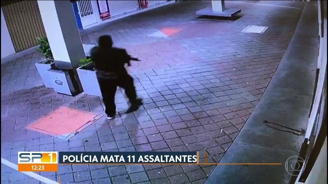 Câmera de segurança mostra parte de quadrilha em Guararema