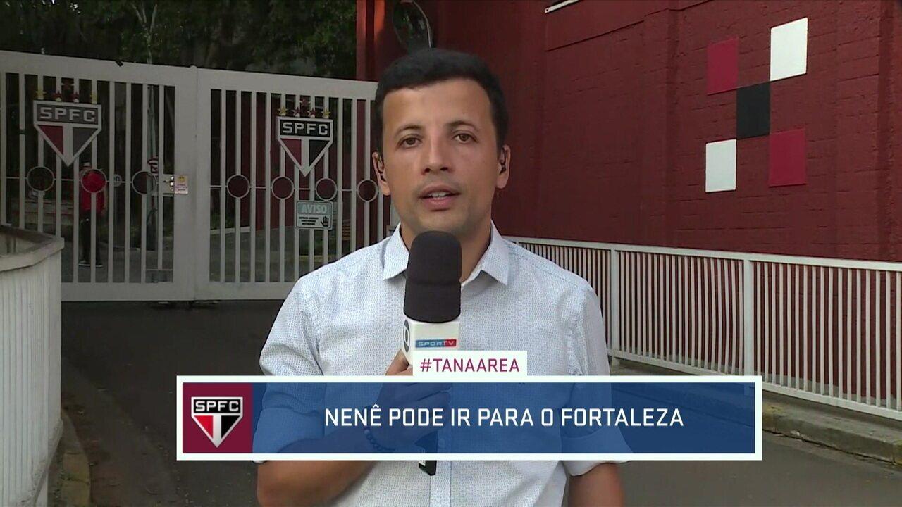 André Hernan diz que Nenê pode acertar com o Fortaleza para a disputa do Campeonato Brasileiro