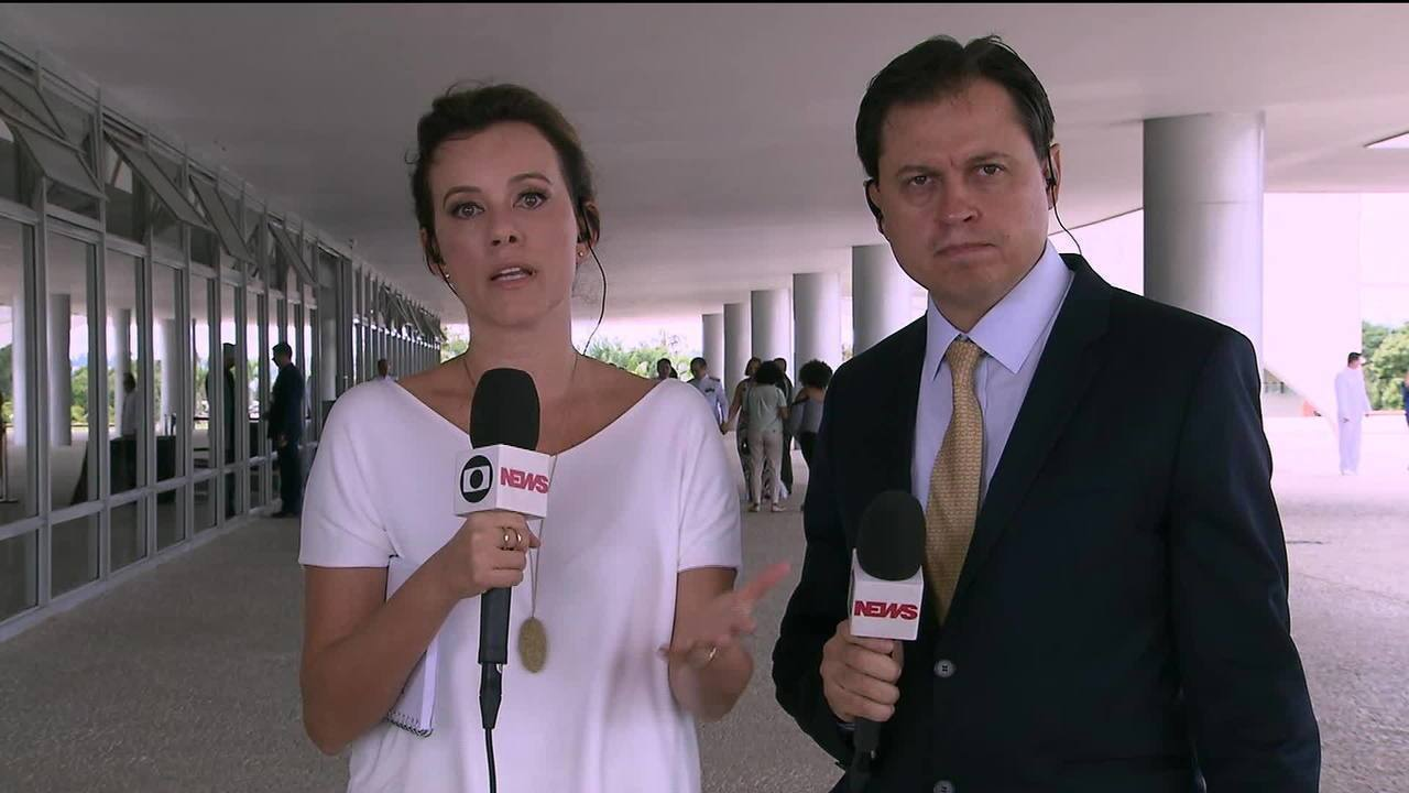 Natuza Nery e Gerson Camarotti comentam sobre o café da manhã com Jair Bolsonaro