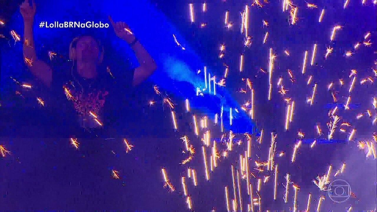 Tiësto coloca a galera pra dançar no Lollapalooza