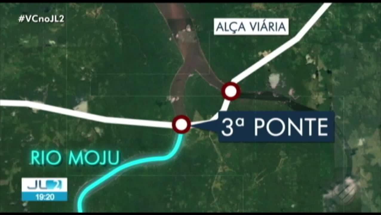 Veja onde fica a ponte da Alça Viária que caiu neste sábado, 6