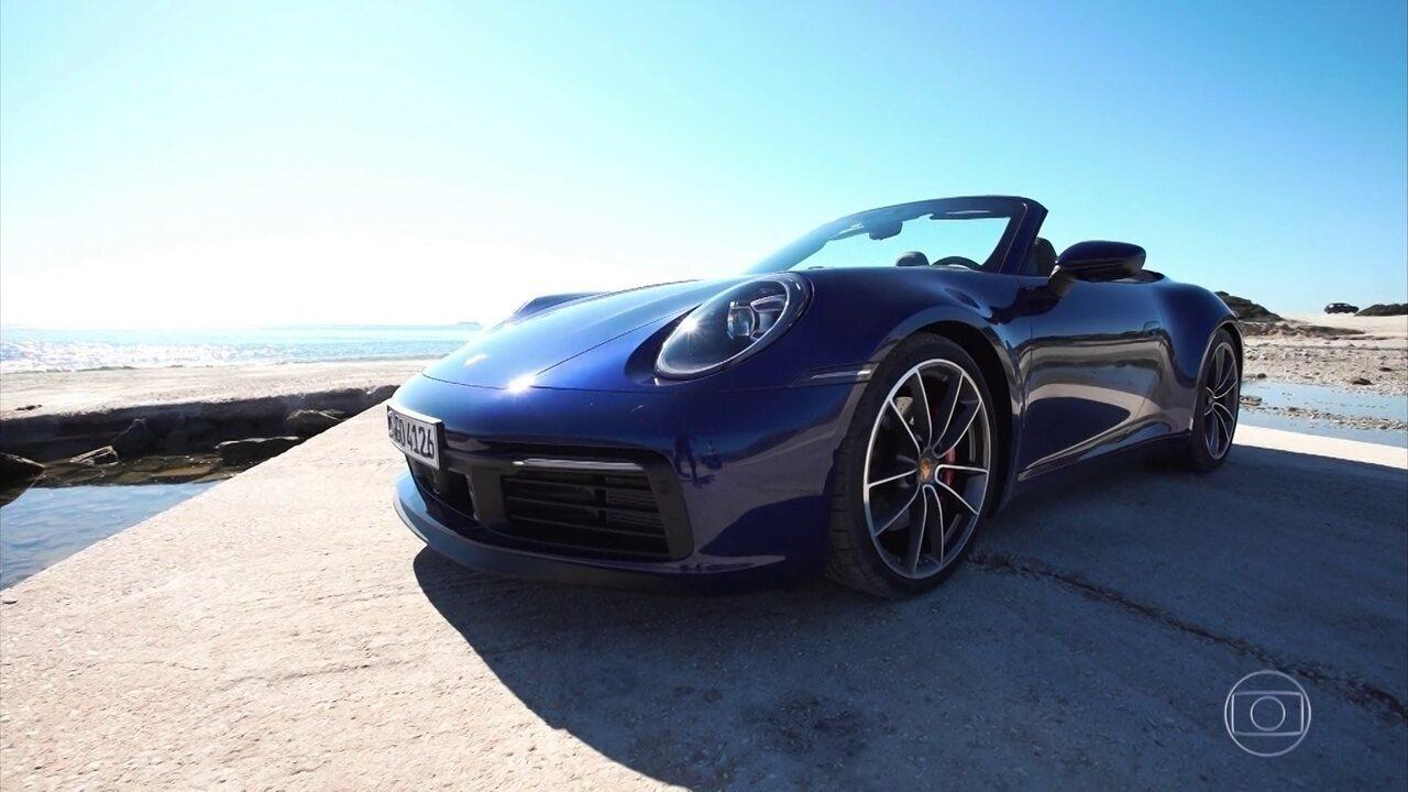 Porsche 911 inova em nova geração, mas não perde 'raiz'