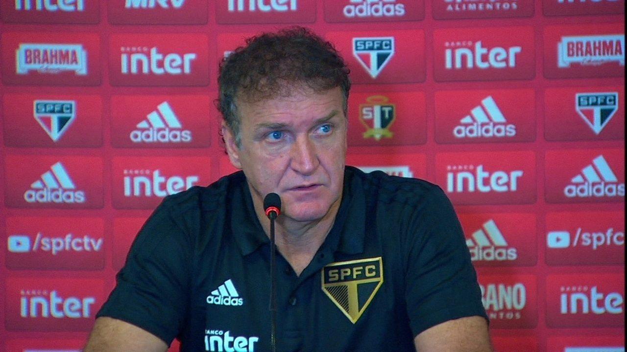 Veja a coletiva do técnico Cuca após a classificação do São Paulo para a final do Paulista