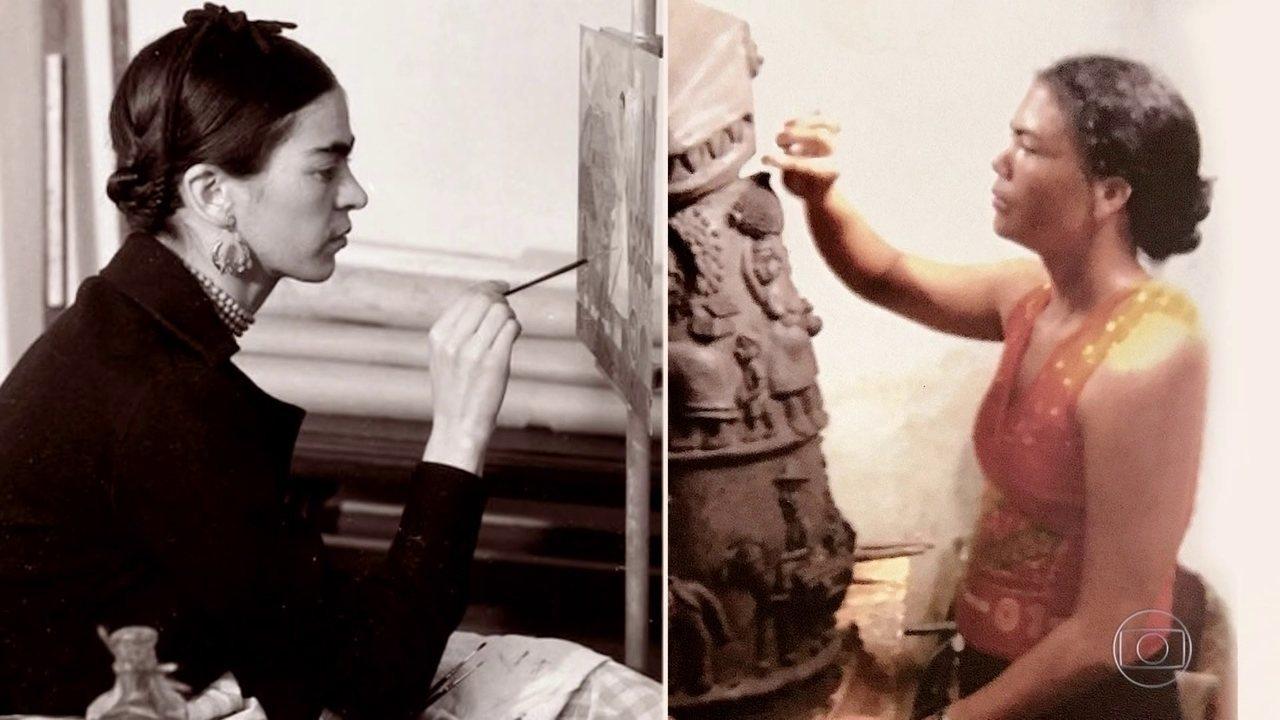 Mulheres Fantásticas: pintora Frida Kahlo e artista alagoana são inspirações