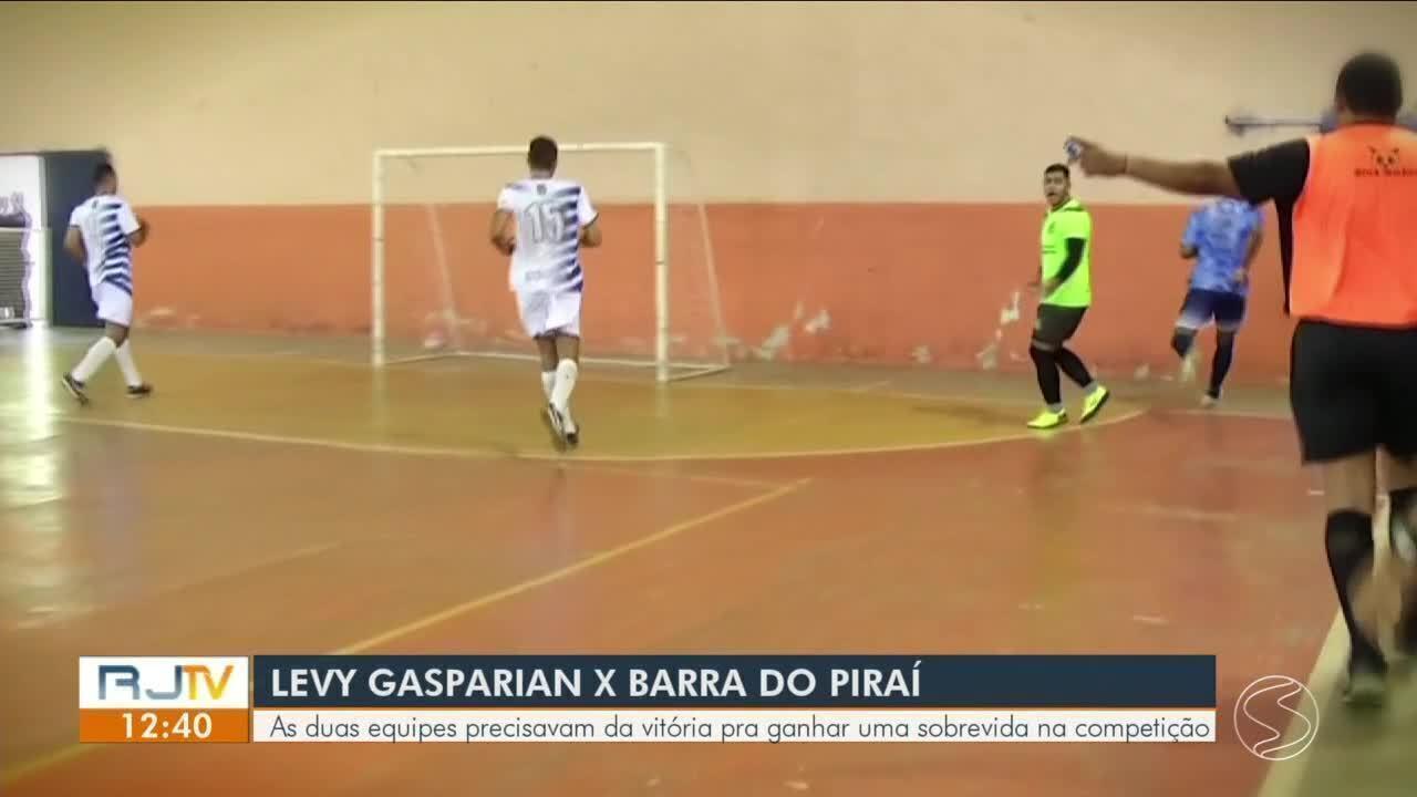 Barra do Piraí atropela Levy Gasparian, sai da lanterna e ganha fôlego no grupo B: 10 a 2