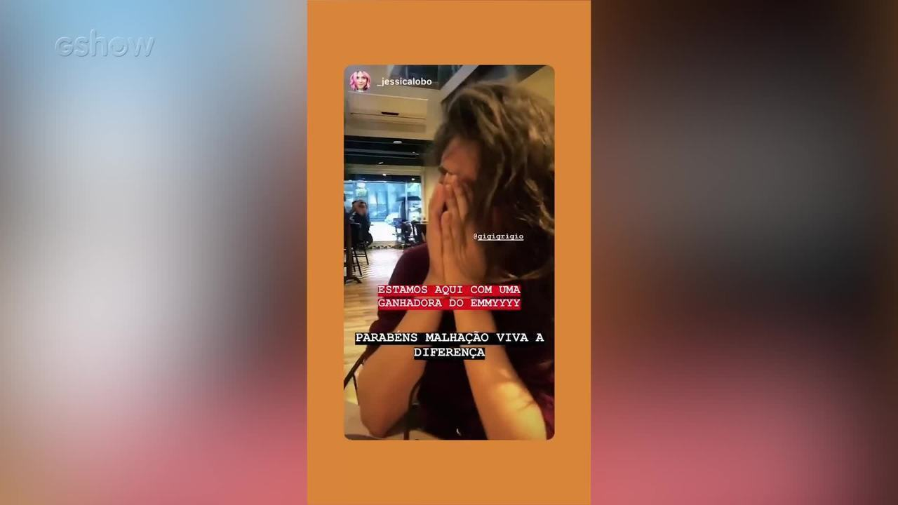 Giovanna Grigio se emociona ao saber que 'Malhação- Viva a Diferença' ganhou o Emmy Internacional Kids