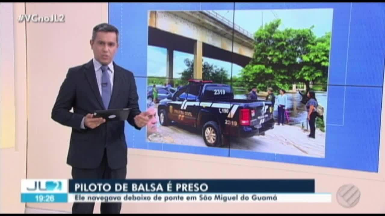 Dnit avalia condições de ponte em São Miguel do Guamá onde balsa teria encostado