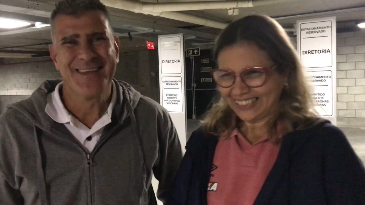 Pais de Bruno Guimarães vibram com fase do filho e falam de carinho dos torcedores