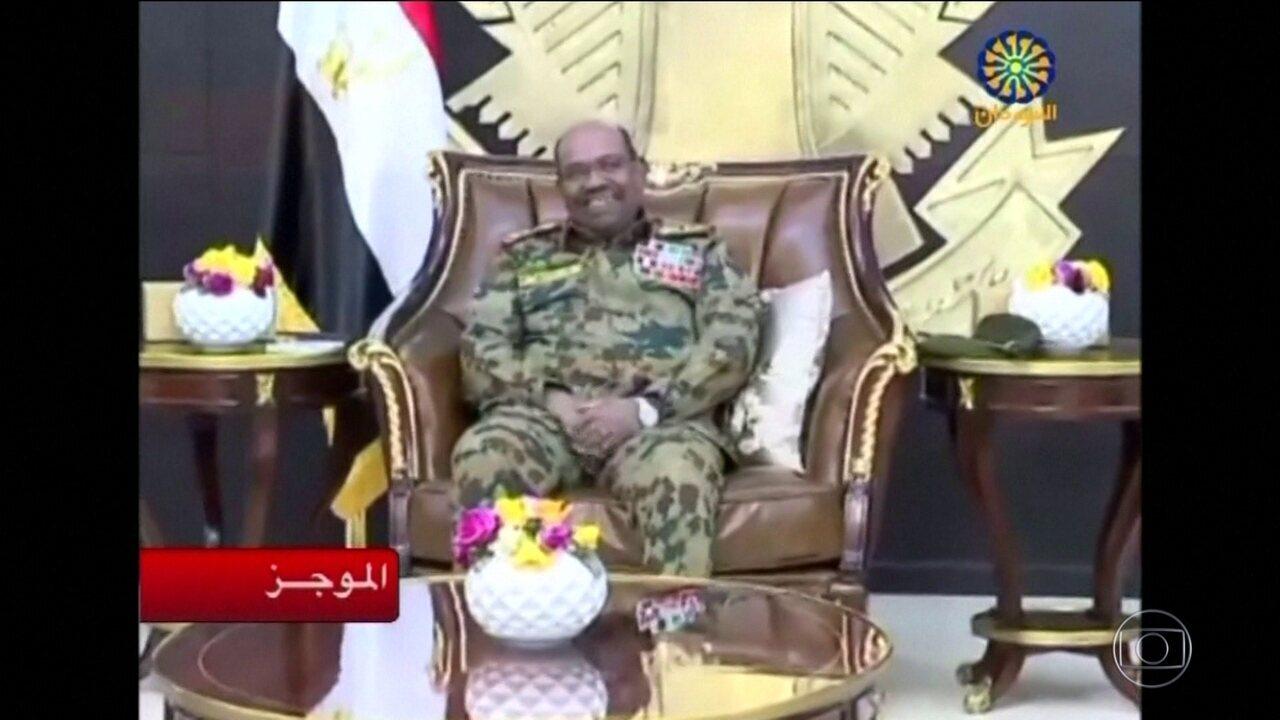 Presidente do Sudão é preso e deposto