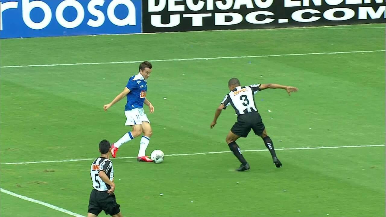 Atlético-MG 1 x 2 Cruzeiro - final Campeonato Mineiro 2013 - pênalti batido por Dagoberto