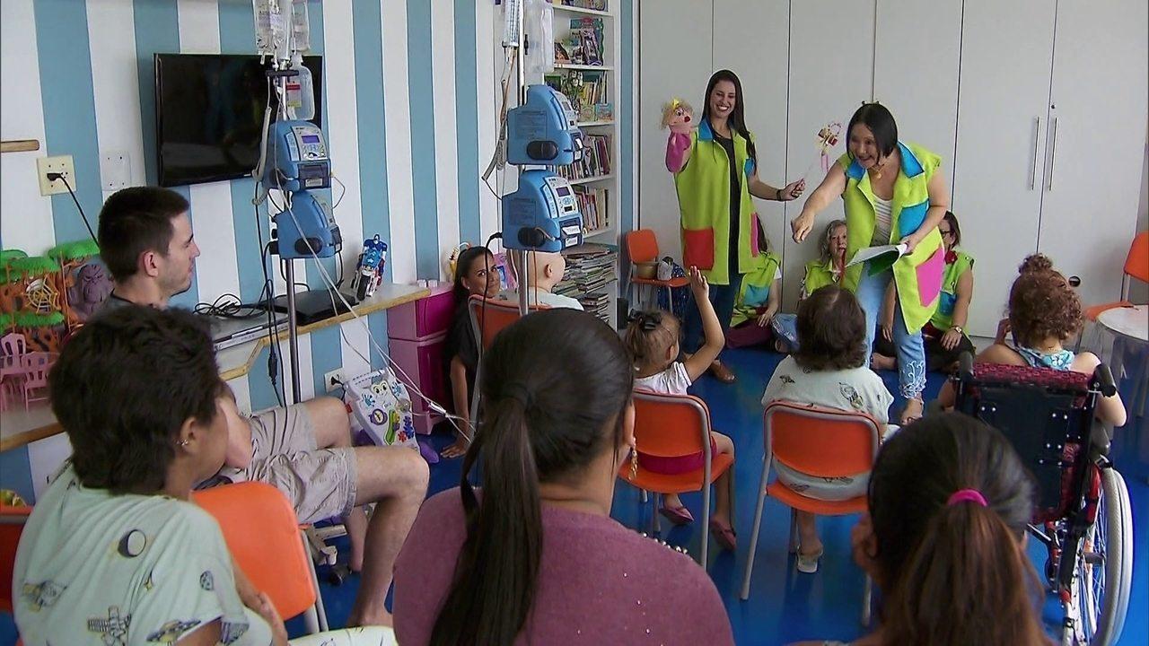 Projeto aproxima crianças e idosos por meio da contação de histórias