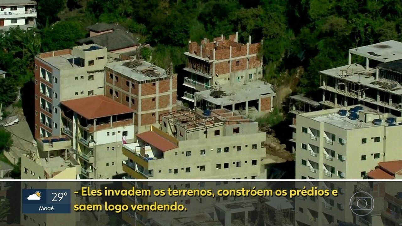 Região em que prédios desabaram é controlada por milícia