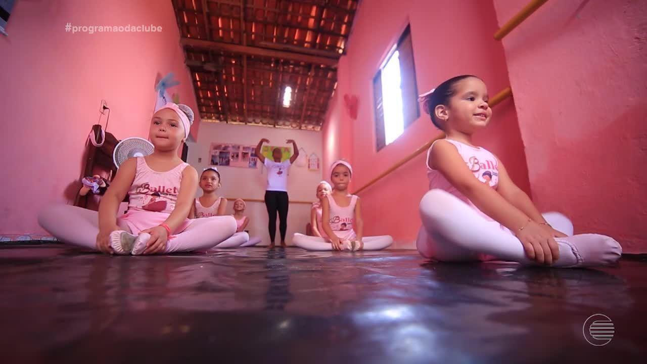 Sonho de menina que queria dançar ballet vira projeto social para 30 crianças