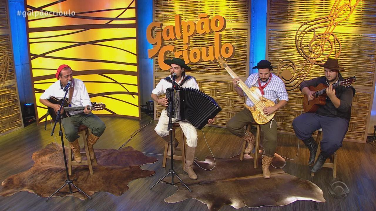 Reveja o segundo bloco do Galpão Crioulo