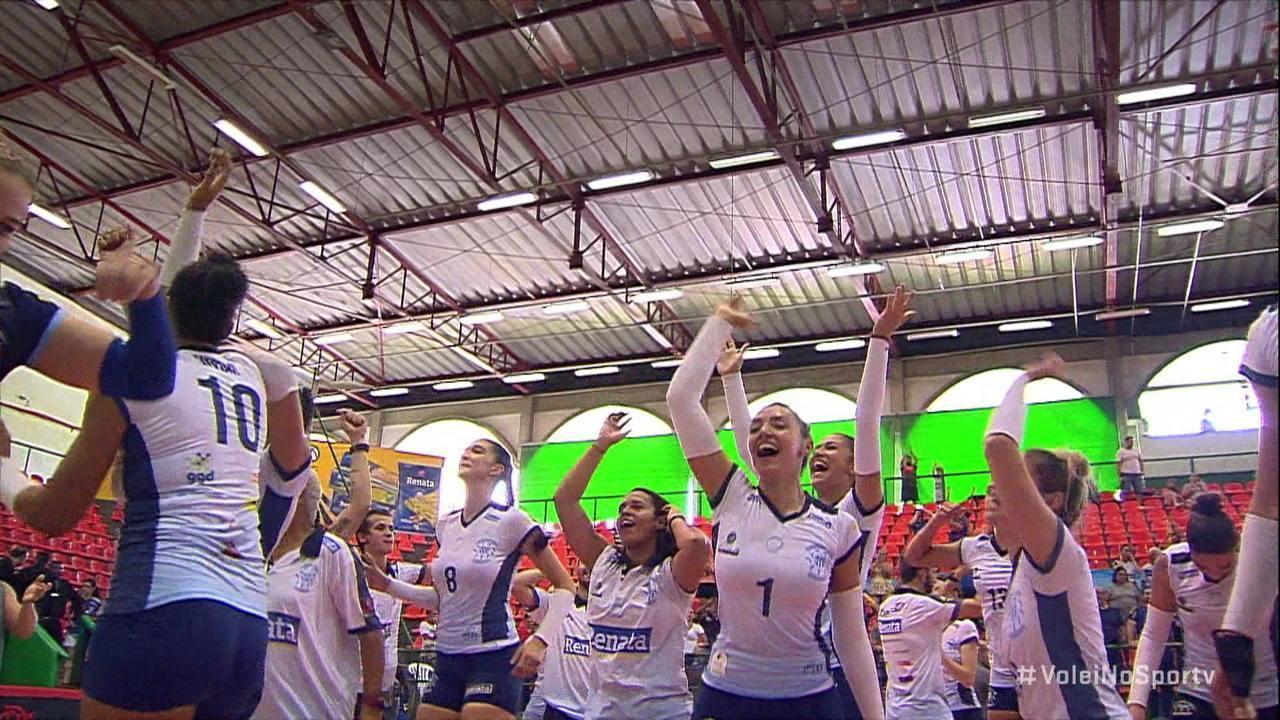 Melhores momentos de Valinhos 3 x 2 Flamengo pela final da Superliga B feminina