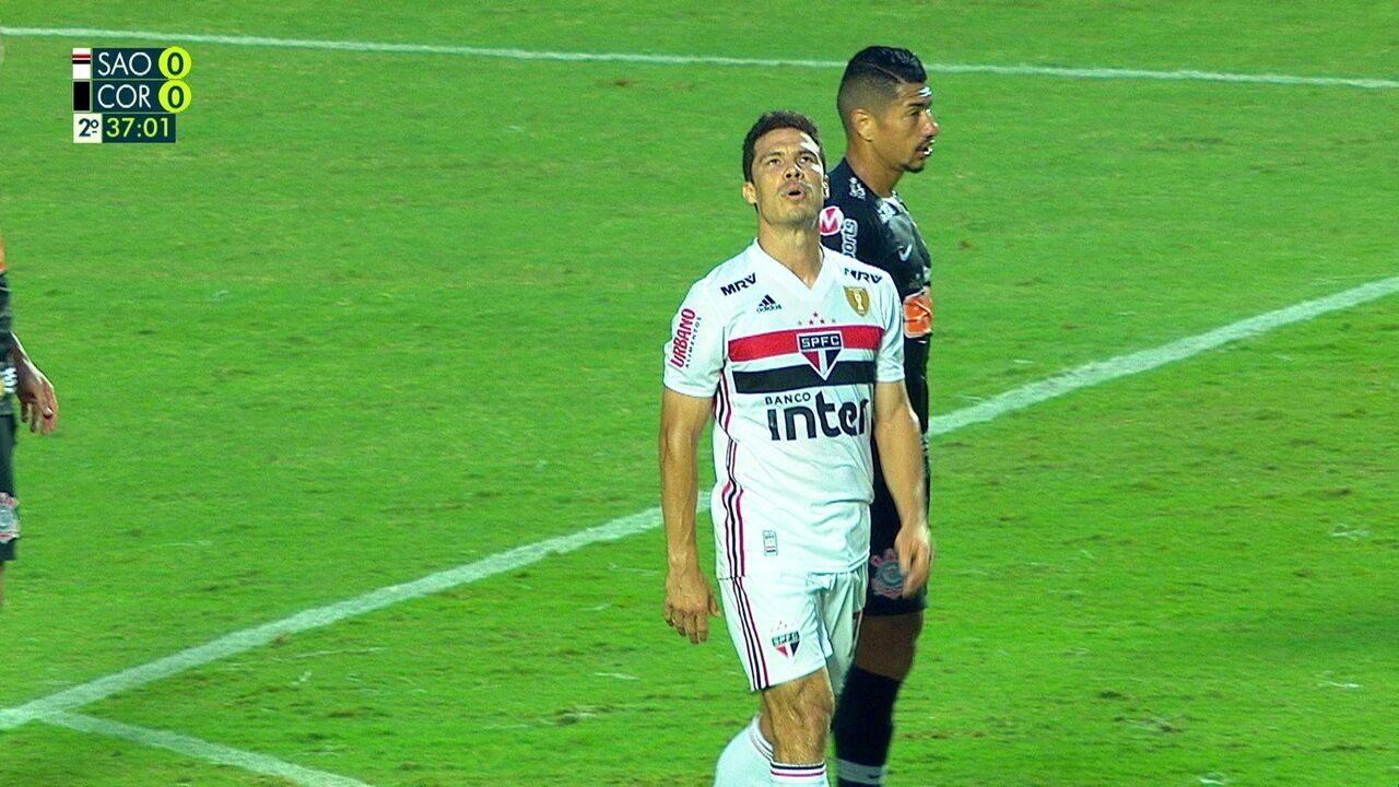 Melhores momentos: São Paulo 0 x 0 Corinthians pelo 1º jogo da final do Paulistão