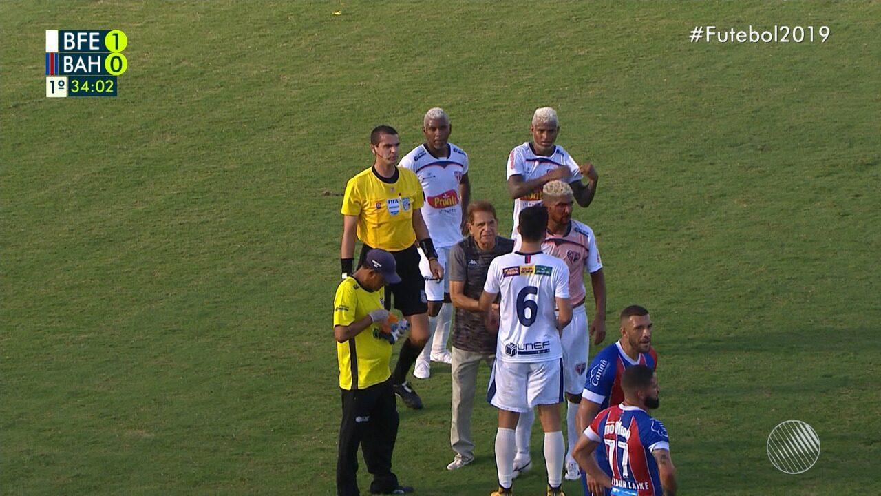 Confira os melhores momentos de Bahia de Feira 1 x 1 Bahia