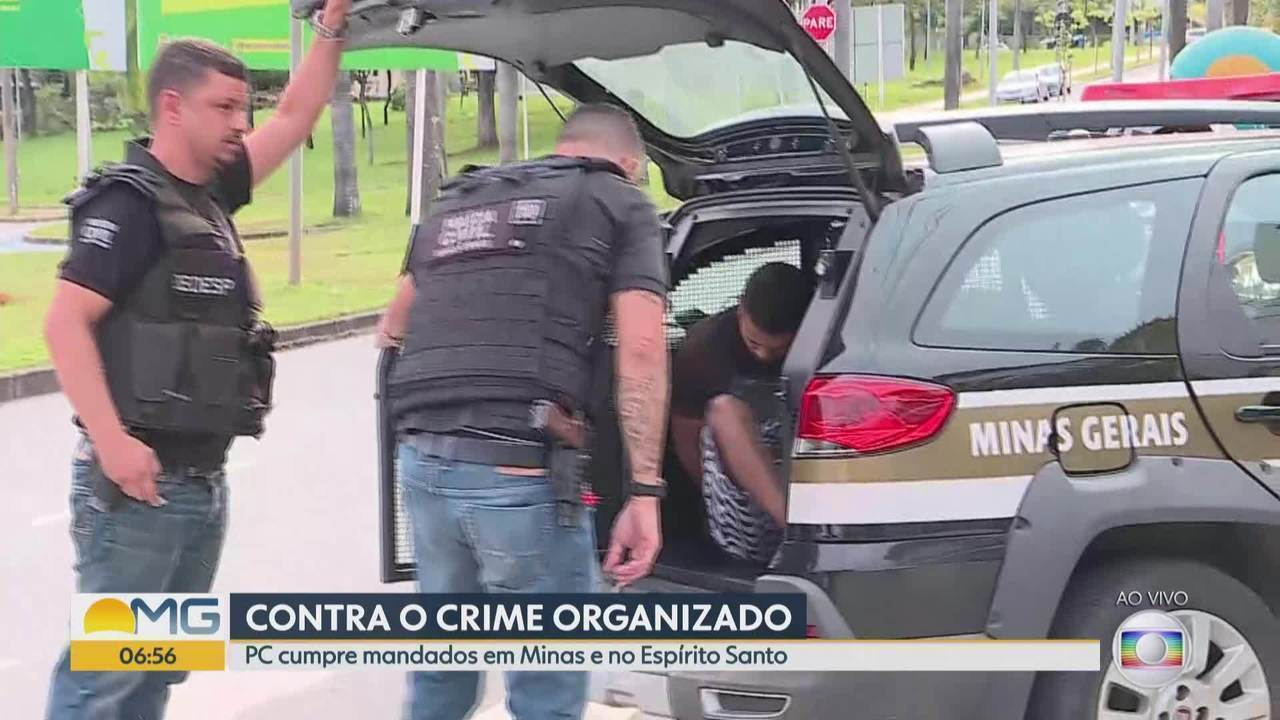 Polícia Civil prende suspeitos de roubos na Grande BH