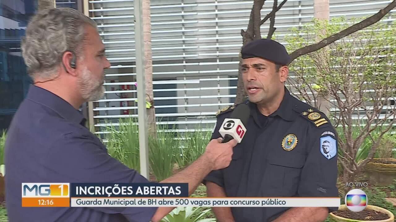 Guarda Municipal de BH abre 500 vagas para concurso público