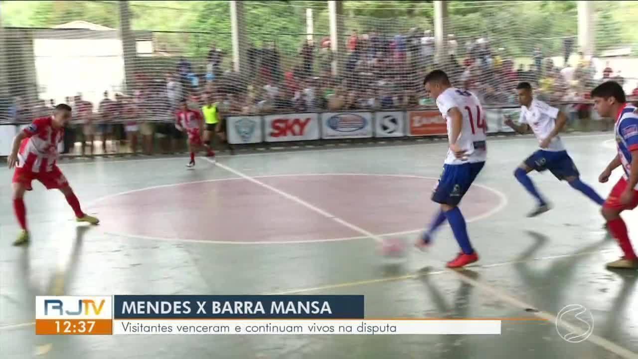 Barra Mansa mostra força, derruba Mende e ressurge na briga por vaga no grupo A