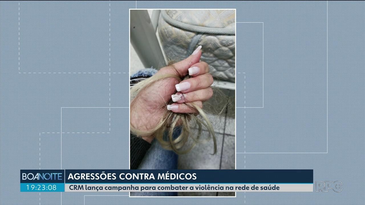 CRM lança campanha contra a violência na rede de saúde