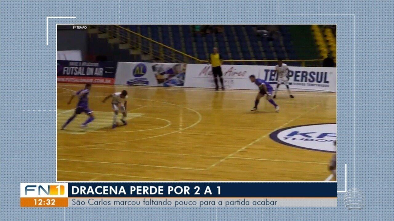 Assista aos três gols da partida em São Carlos
