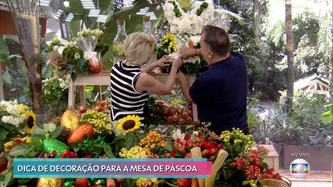 Vic Meirelles dá dicas para decorar a mesa de Páscoa