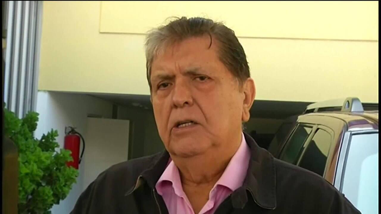 Ex-presidente do Peru tenta suicídio antes de ser preso