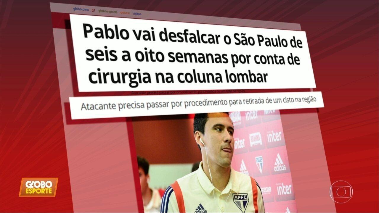 Sem pablo, lesionado, São Paulo se prepara para decisão do Paulistão