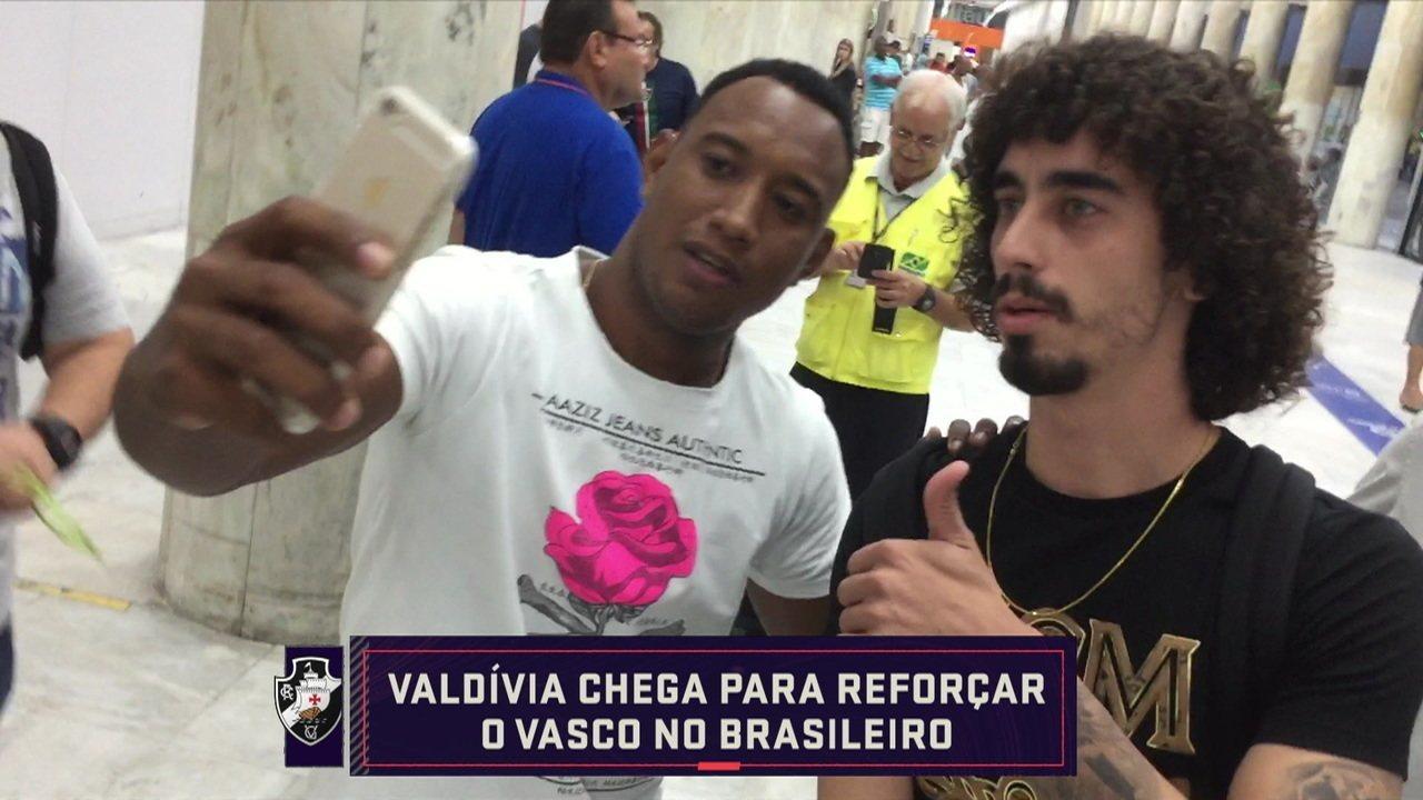 """Analistas falam sobre a contratação de Valdívia pelo Vasco: """"Precisava de sequência, ritmo de jogo e trabalho físico especial"""""""
