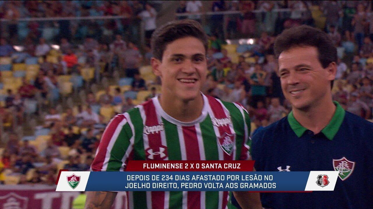 Gonzalez analisa retorno de Pedro e pede tempo para atacante voltar a apresentar seu melhor futebol