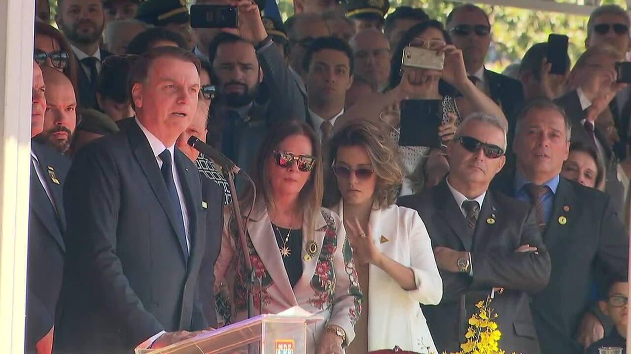 Bolsonaro diz que diferenças com a mídia devem ficar para trás