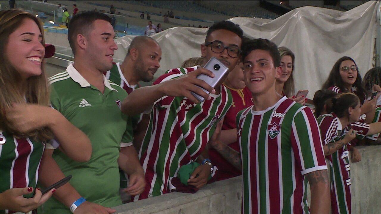 Em noite marcada pela volta de Pedro, Fluminense bate o Santa Cruz pela Copa do Brasil