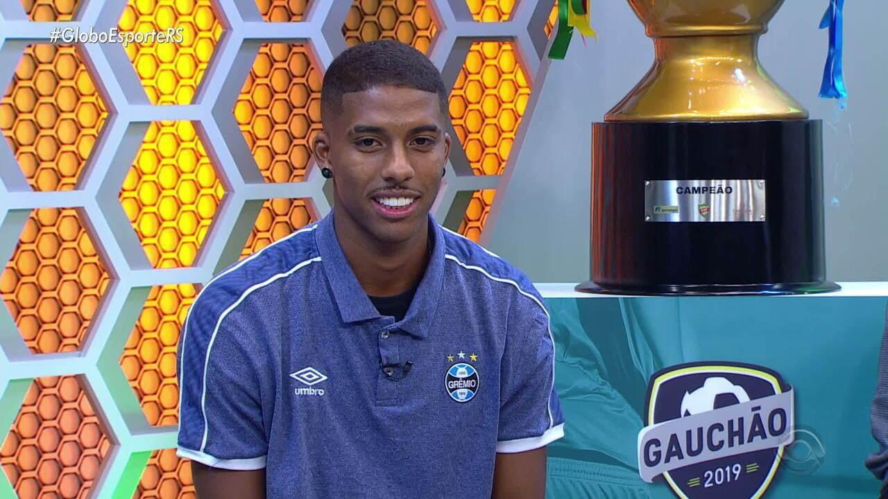 Jean Pyerre fala sobre conquista do Grêmio no Gauchão