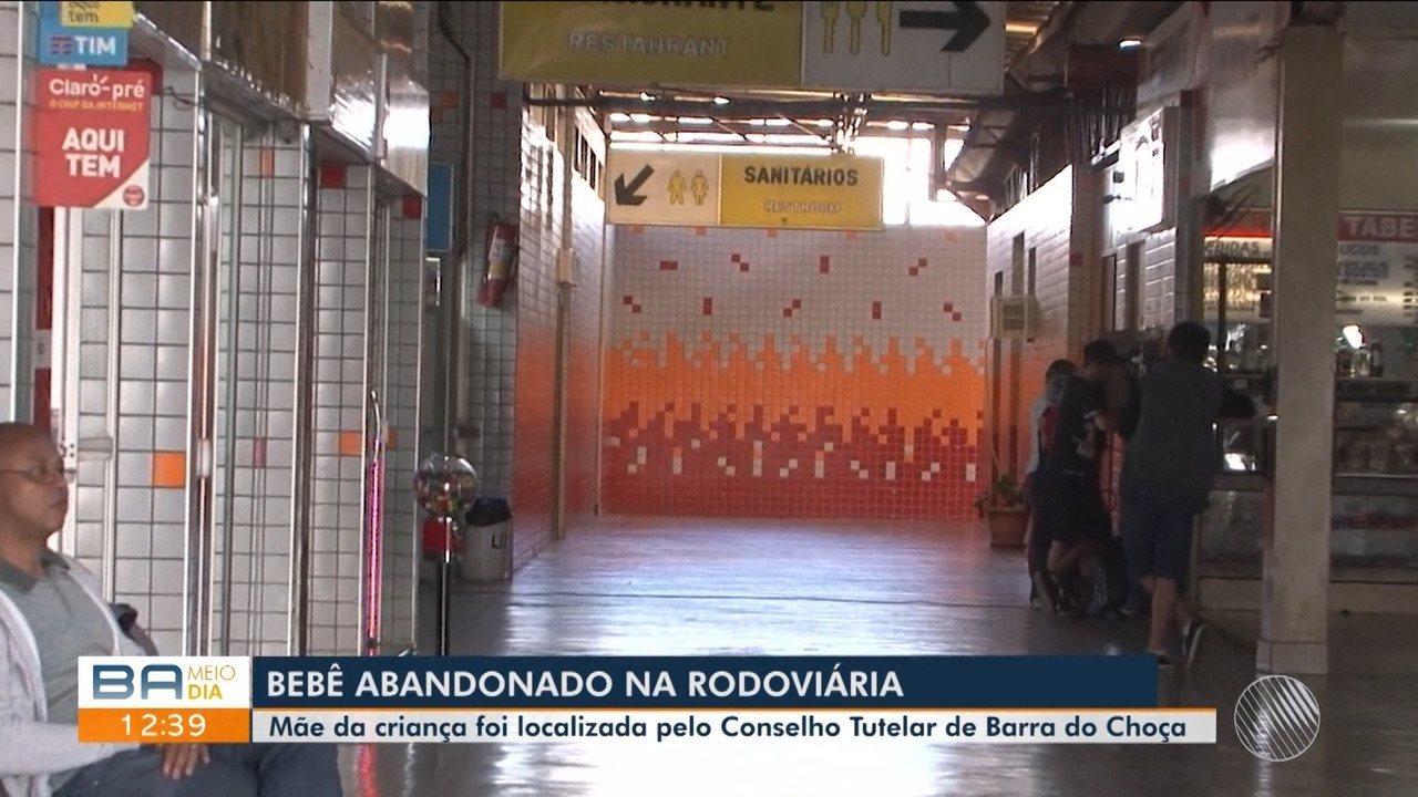 Conselho Tutelar de Barra do Choça localiza mãe de bebê abandonado em rodoviária