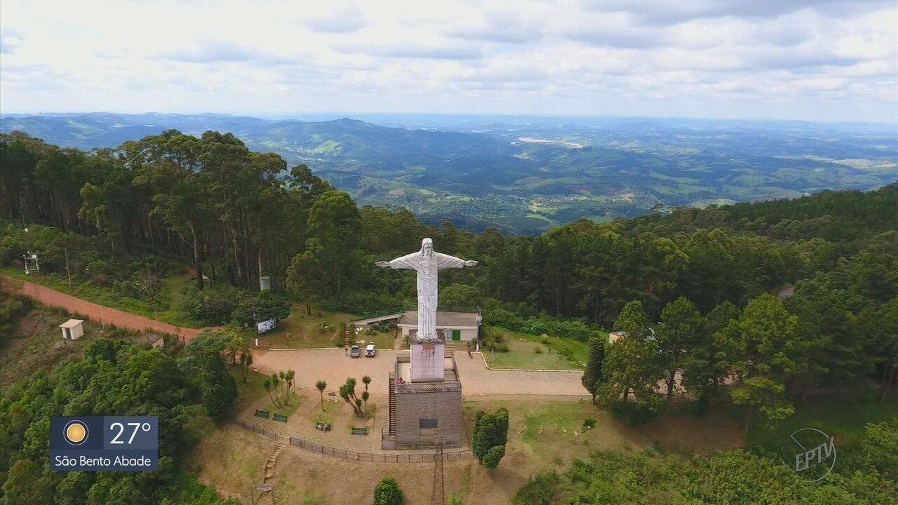 Complexo do Cristo Redentor é alvo de vandalismo em Poços de Caldas (MG)