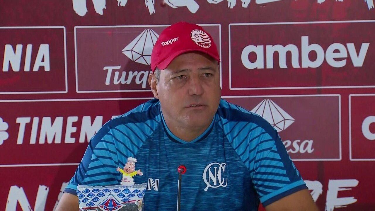 Márcio Goiano usa jogo contra Ceará como referência para Náutico