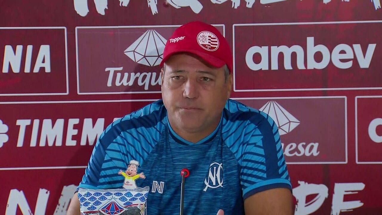 Márcio Goiano explica situação de jogadores no DM do Náutico