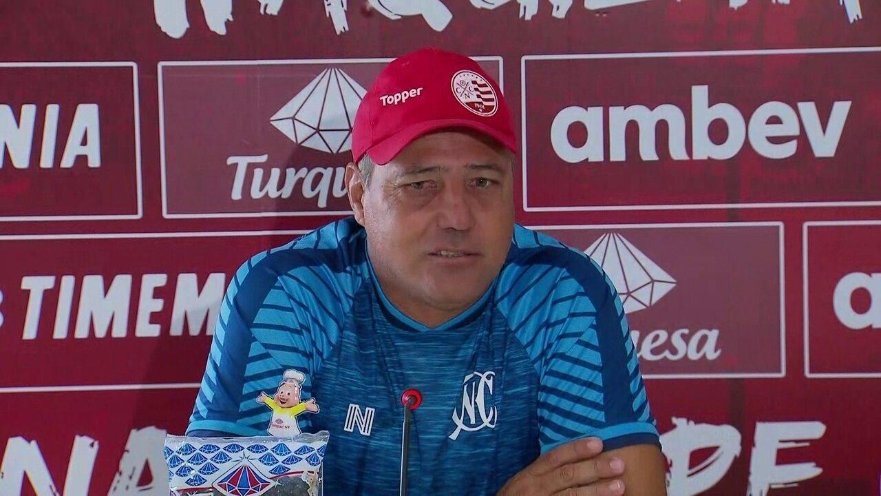 Márcio Goiano elogia Wallace Pernambucano