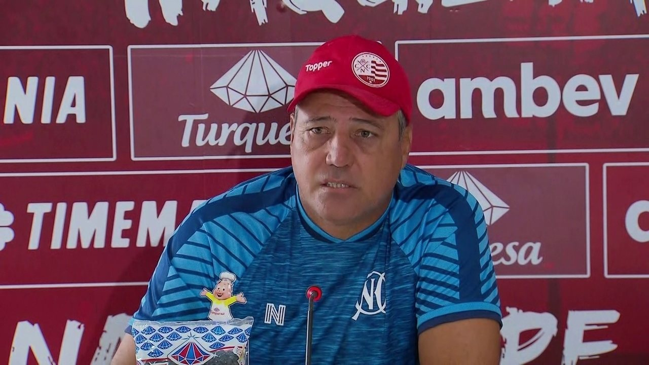 Márcio Goiano explica como quer Náutico jogando contra Sport
