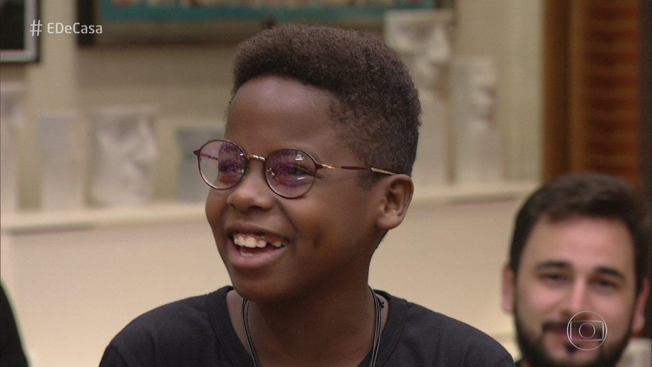 Jeremias Reis conta o que mudou em sua vida após o 'The Voice Kids'