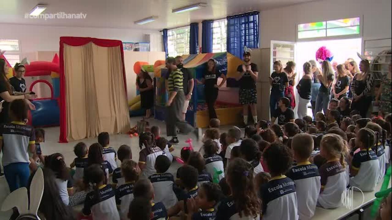 Amigos se unem para fazer a alegria de crianças na Páscoa