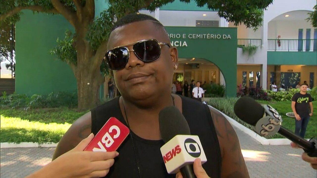 'É uma perda muito grande', afirma MC Marcinho sobre morte de Sapão