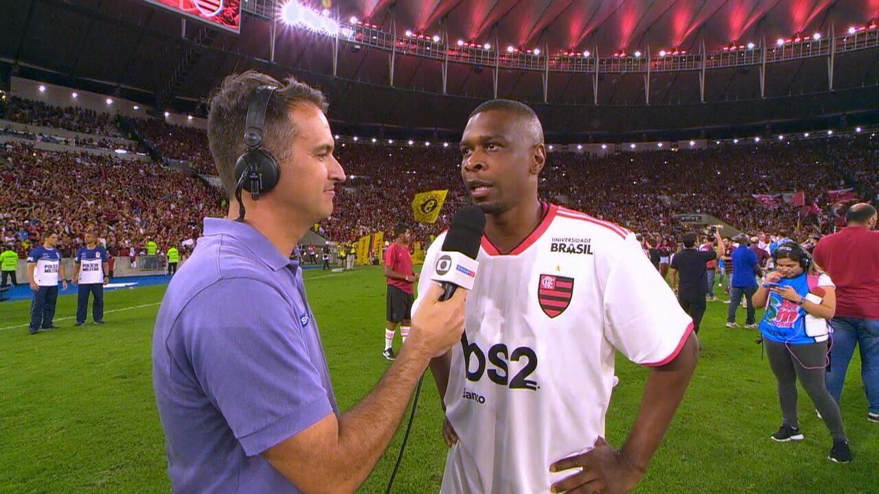 """Juan fala sobre levantar taça com a camisa do Flamengo no fim da carreira: """" Momento especial"""""""