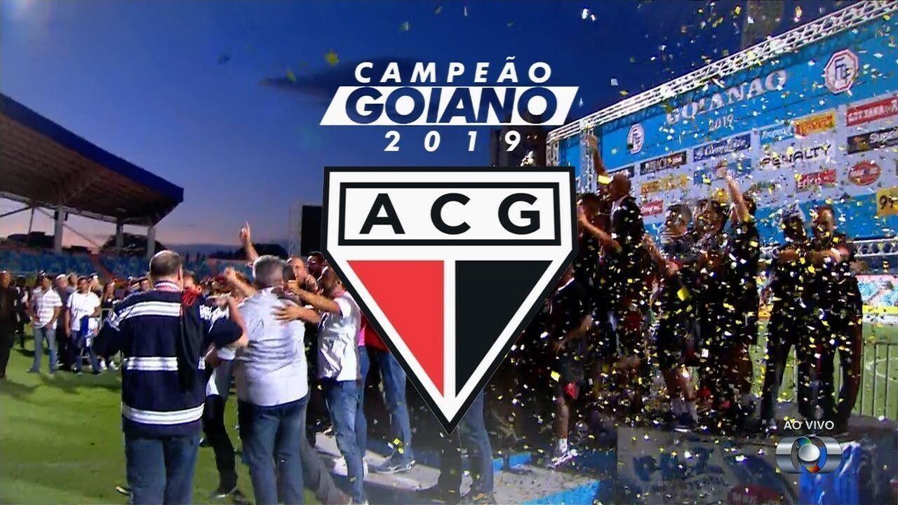 Atlético-GO levanta a taça de campeão do Campeonato Goiano 2019!