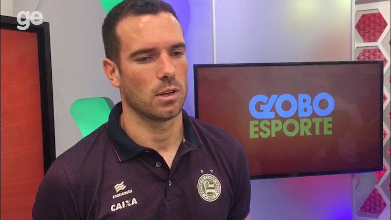 Lucas Fonseca fala sobre desempenho como zagueiro no Bahia