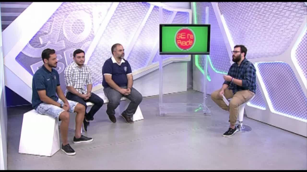 GE na Rede entrevista Fábio Bentes e Yuri Naves, do Remo
